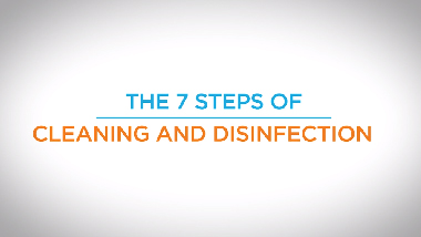 3. The 7 Steps of Cleaning and Disinfection