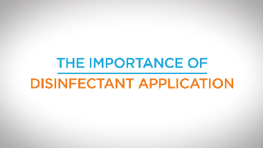 14. Importance of Disinfectant Application