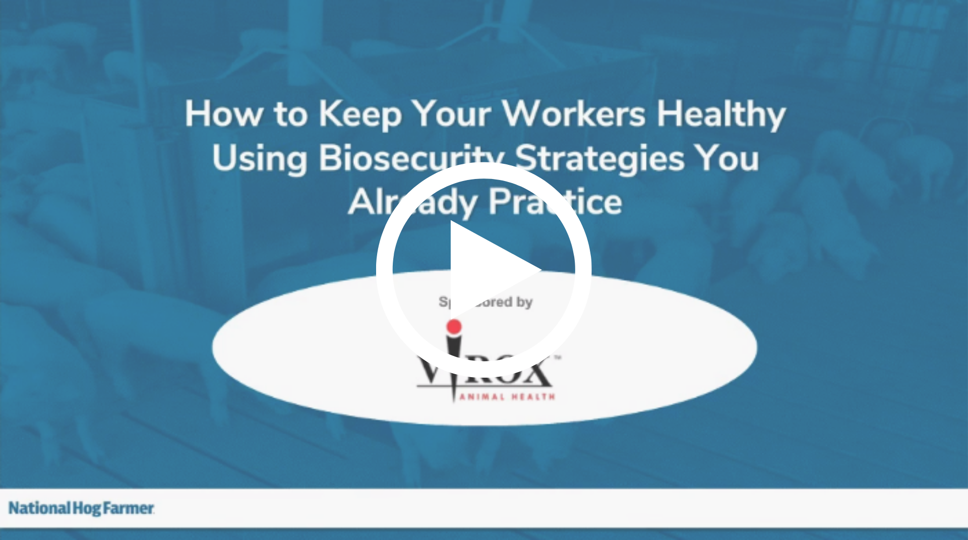 How to Keep Your Workers Healthy Using Biosecurity Strategies You Already Practice